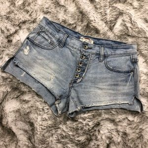 Free People Shorts - Free People | Button-Up Denim Shorts